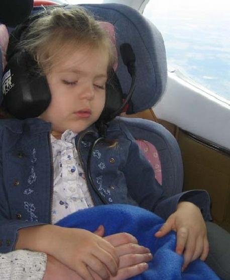 Kieran on an Angel Flight Southeast mission