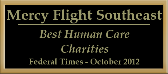 Best Human Care Charities Award 2012 plate
